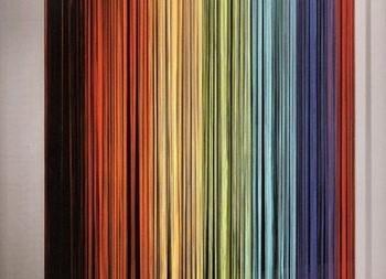 Разноцветные висюльки в дверной проем