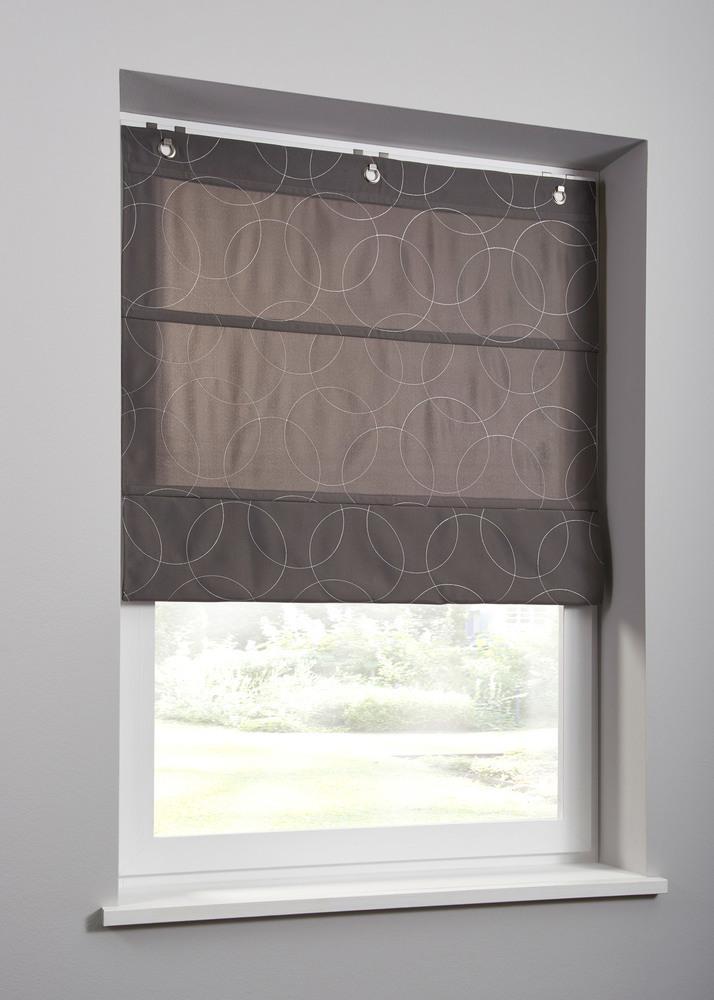 Фото № 7: Римские шторы на окнах: 20 красивых интерьеров