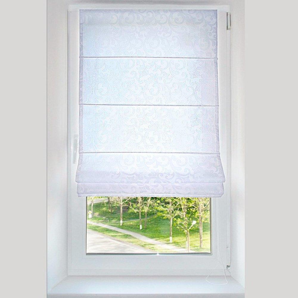 Фото № 15: Римские шторы на окнах: 20 красивых интерьеров