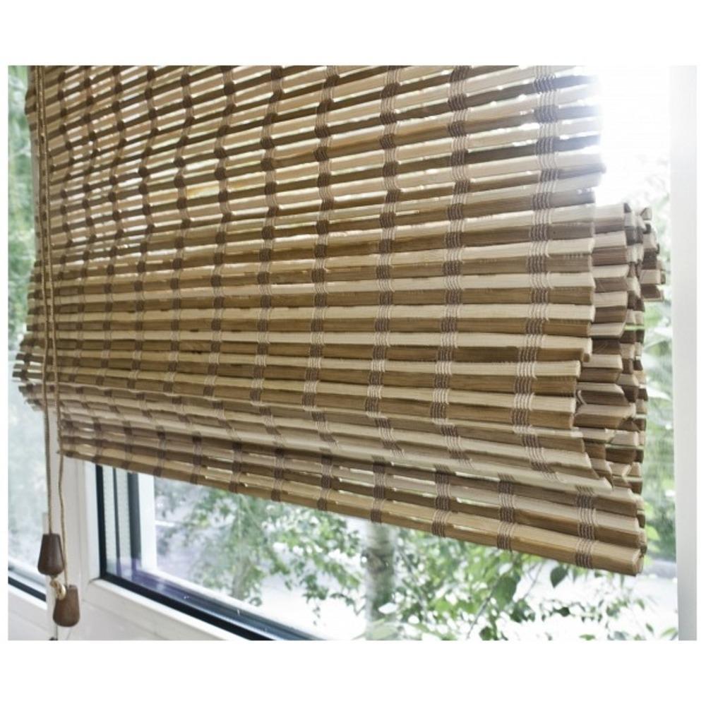 Фото № 12: Римские шторы на окнах: 20 красивых интерьеров