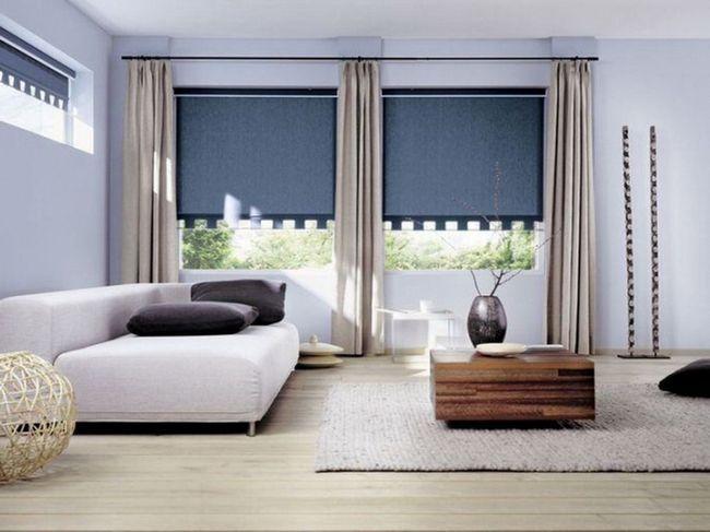 Римские шторы - простота в применении