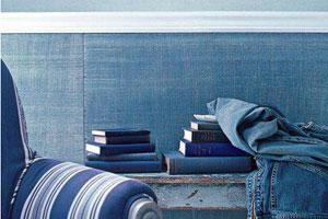 интерьер в стиде джинса