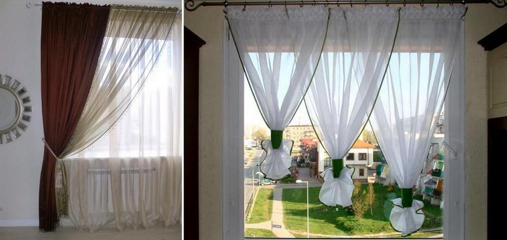 Применение светлых тонов и невесомых тканей позволяет визуально расширить помещение, создавая уют и спокойствие