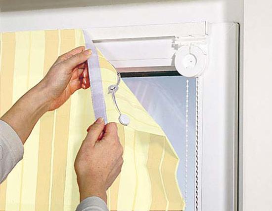 текстильная застежка штор