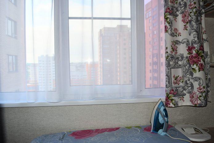 сшить шторы на кухню самой