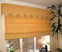 Выбираем цвет шторы для кухни