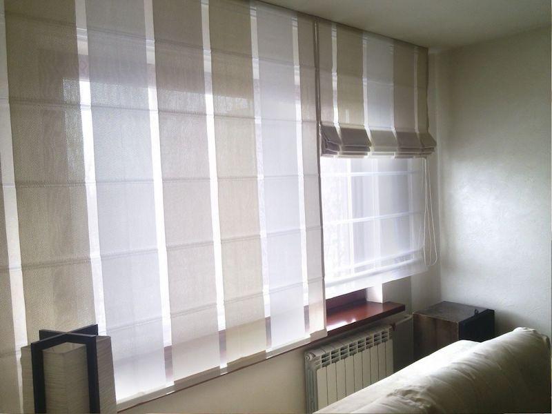 Двойные рулонные шторы