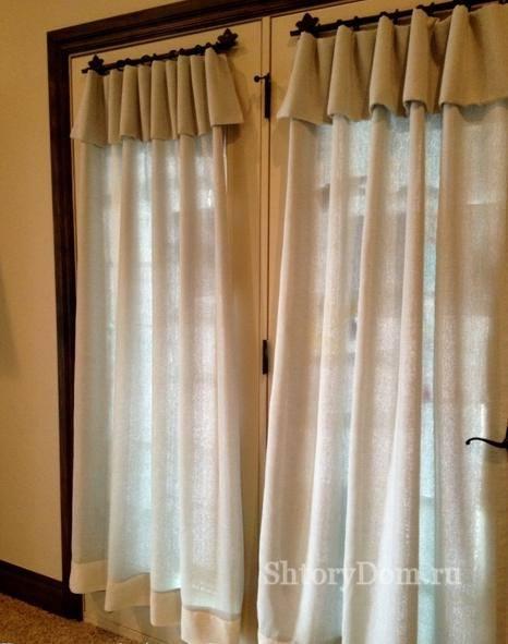 Шторы занавески на дверь