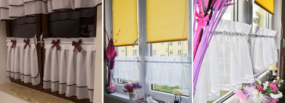 Как повесить шторы без карниза – фото