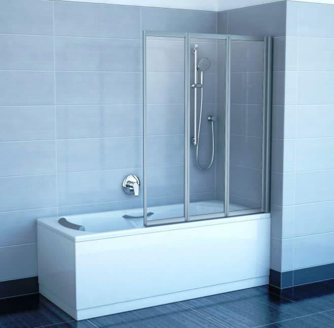 шторы из пластика для ванной
