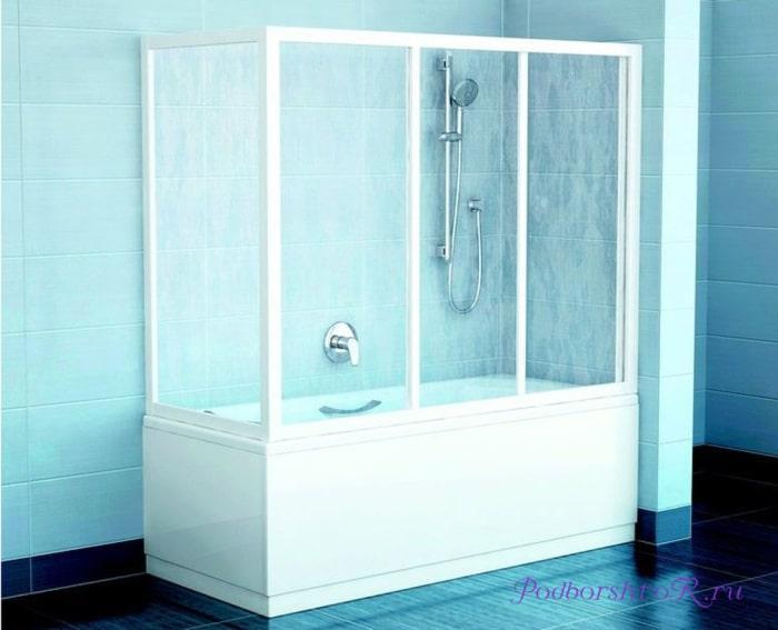 Жесткие конструкции для ванны