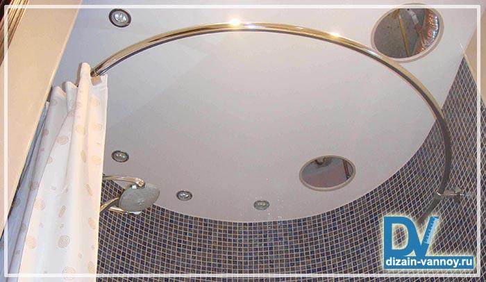палка для шторы в ванную