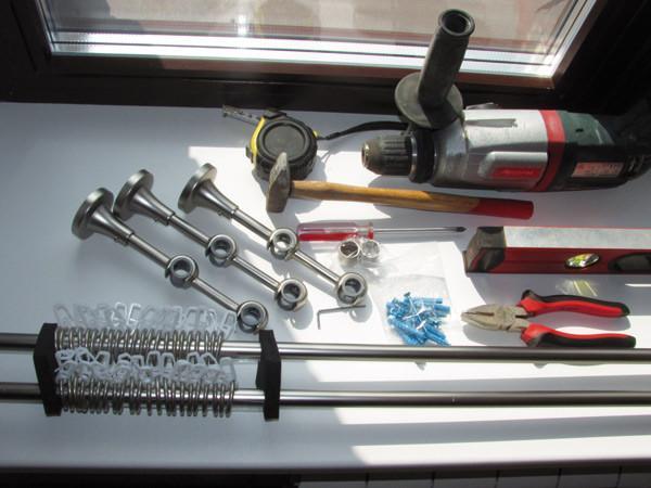 Стандартный набор инструментов, который найдется в каждом доме