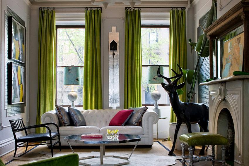 Выбирать дизайн штор необходимо еще на этапе ремонта помещения