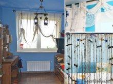 Как подобрать шторы под синие обои: Фото 1