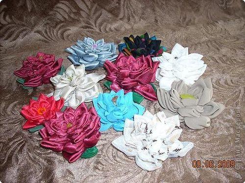 Цветы на шторы