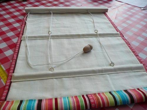 Как своими руками сделать рулонные шторы