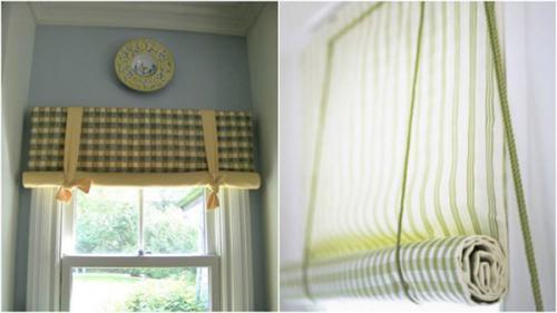 Как самому сделать рулонные шторы
