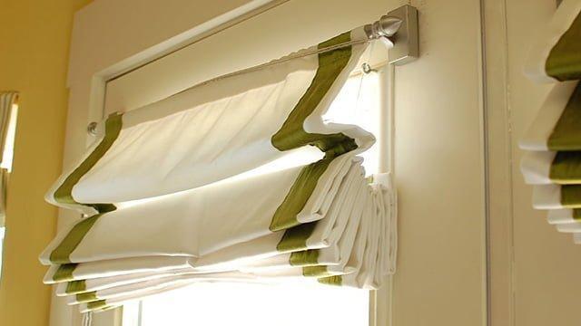 легкие шторы на окна