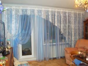 легкие шторы для гостиной