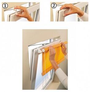 Как повесить рулонные шторы на пластиковое окно