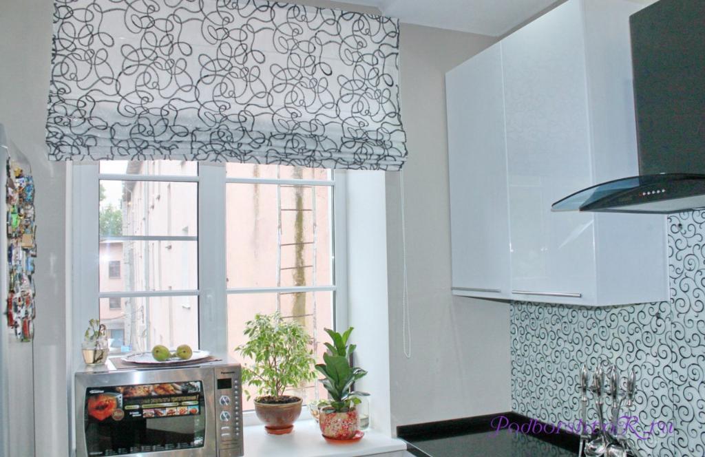 Определяйте длину штор на кухне в зависимости от ваших пожеланий