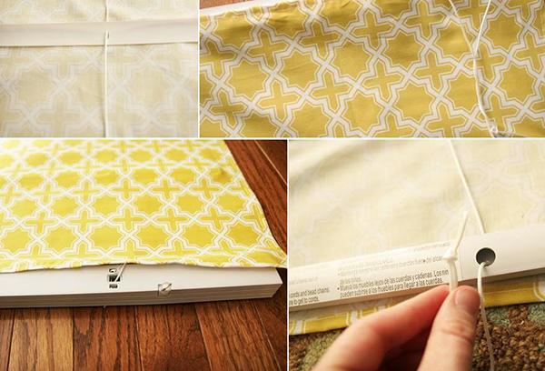 Изготовление рулонной шторы своими руками