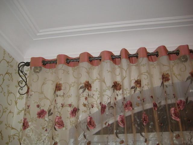 Пример шторы на люверсах