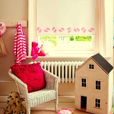 рулонные шторы в детской