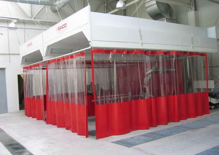 прозрачные шторы в автопокраске