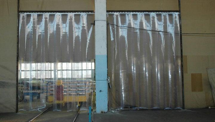 прозрачные шторы как завеса