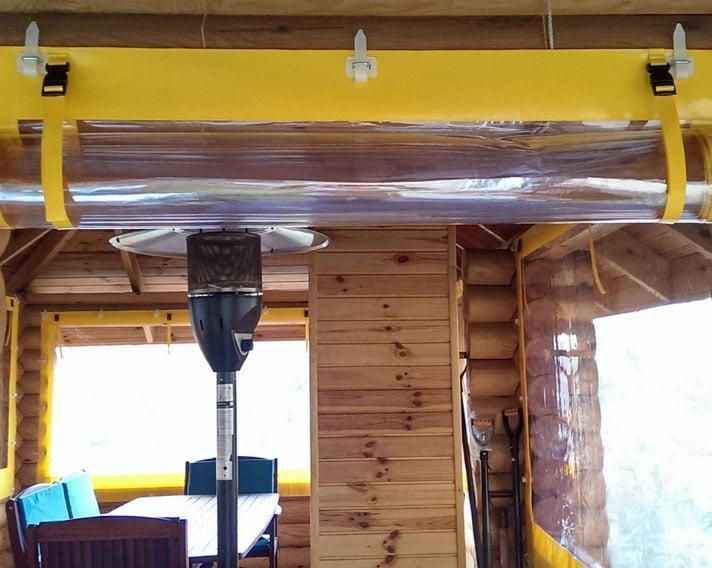 прозрачные шторы дома