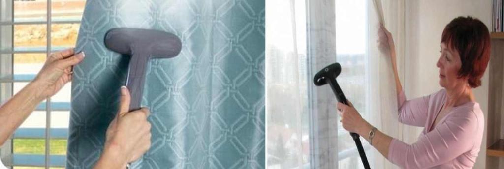 Для домашнего пользования подойдут недорогие ручные отпариватели
