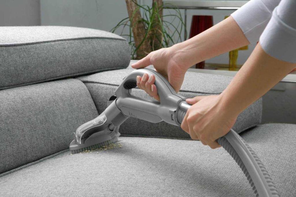 Экстрактор можно использовать как для мебели, так и для чистки ковров