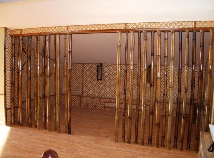 бамбуковые шторы для дверных проемов