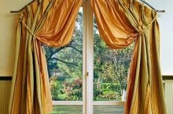 Карниз на арочное окно