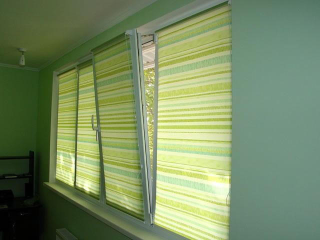 Обзор вариантов штор для пластиковых окон