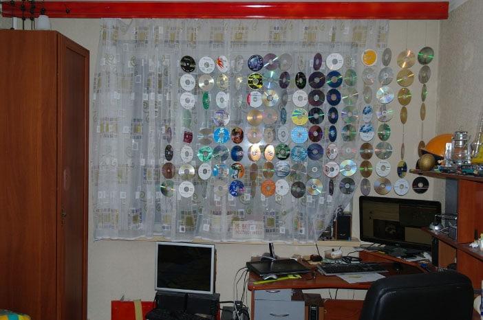 штора из дисков