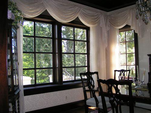 Красивое обрамление окна
