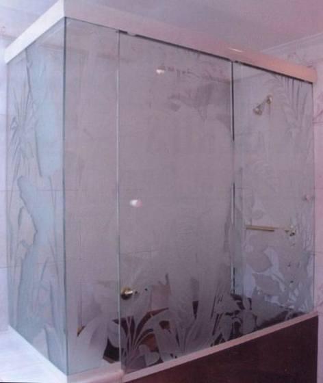 Оформление шторок в ванную