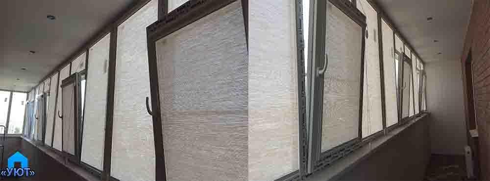 Кассетные жалюзи для балкона