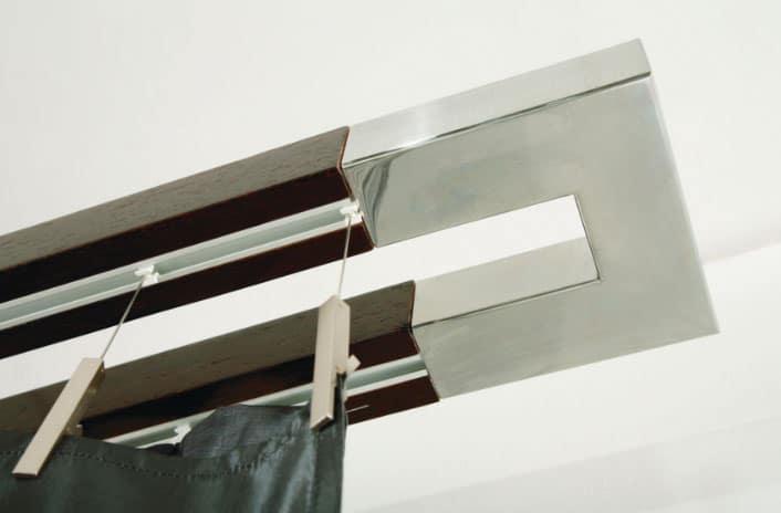 Алюминиевый карниз для тяжелых штор