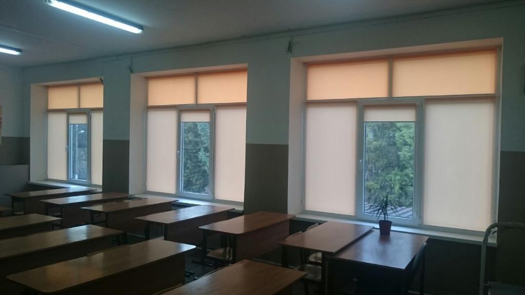 Шторы в класс