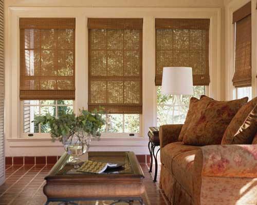 Римские шторы на пластиковые окна
