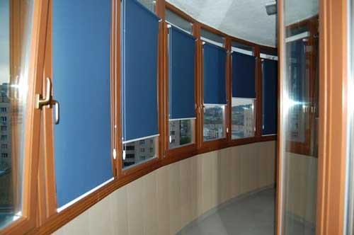 Рулонные шторы на пластиковые окна фото