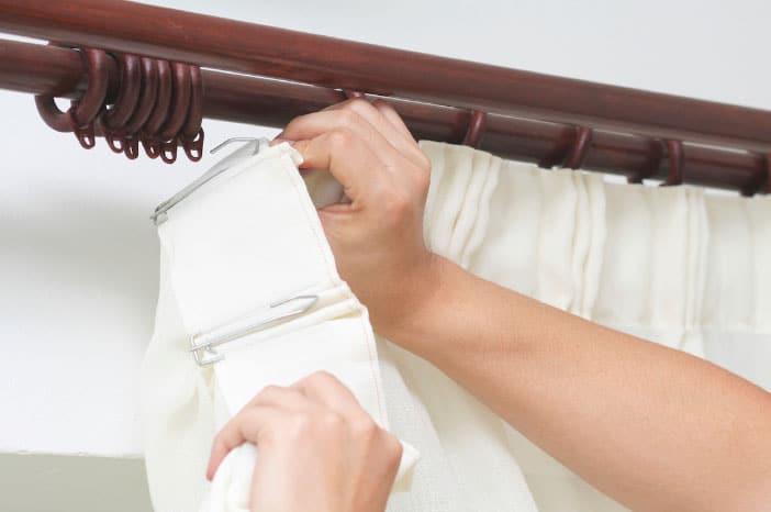 Сборка складок шторной ленты