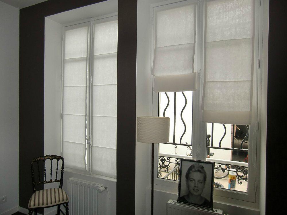 Однотонные рулонные шторы для вашего интерьера