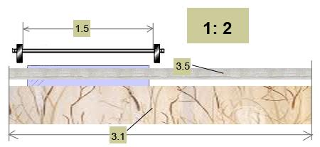Как рассчитать расход шторной ленты