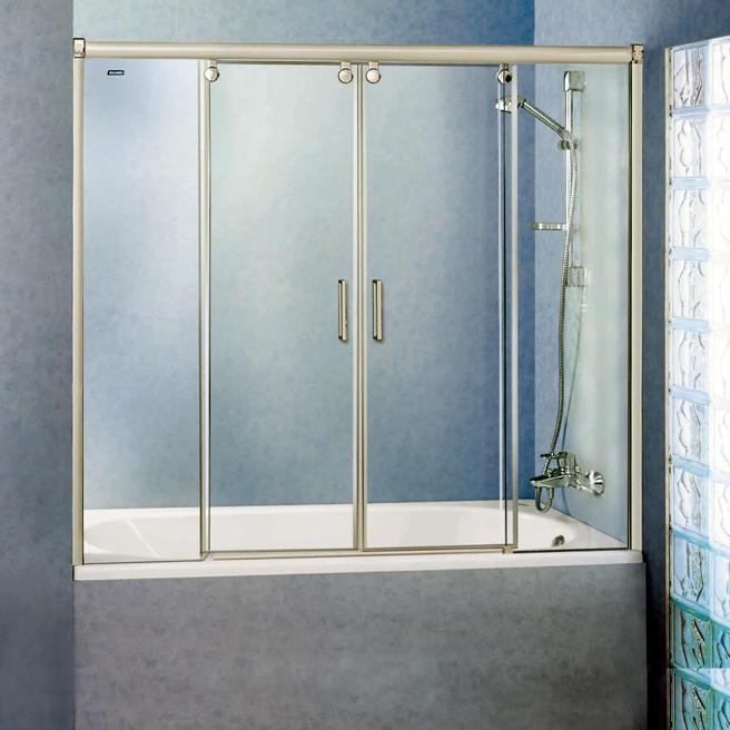 Такой аксессуар, как раздвижные шторки для ванной является хорошей заменой обычной полиэтиленовой ширме