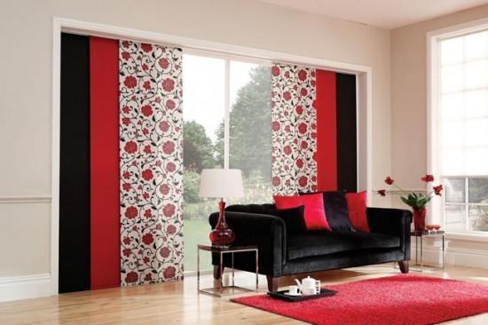 Японские шторы могут быть акцентом в интерьере, а могут быть совершенно нейтральными - все зависит от цвета ткани